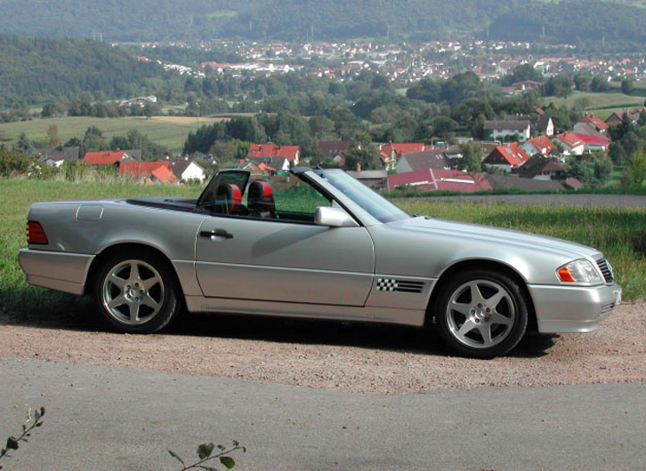 r129 special mille miglia the mercedes benz r129 sl (1990 2002)  at crackthecode.co